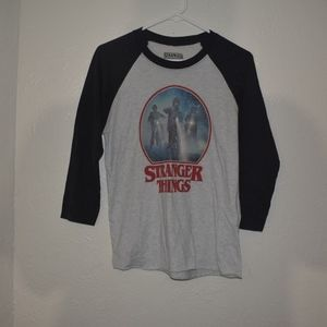 Stranger Things tee sz Small
